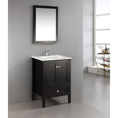 "Simpli Home Chelsea 24"" Single Bathroom Vanity Set"