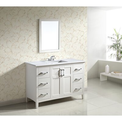 "Simpli Home Winston Single 48"" Bathroom Vanity Set"