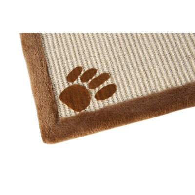 Great Paw Sisal Cat Burrow and Scratching Board