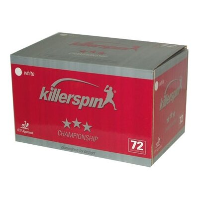 Killerspin KS Champion Ping Pong Balls - 72 Pack