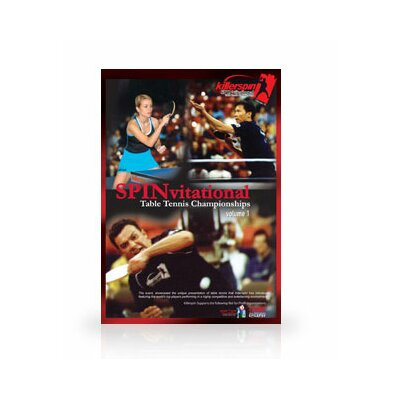 Killerspin Table Tennis SPINvitational DVD Vol.2