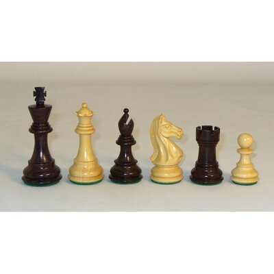 Checkmate Rosewood Pro Chessmen Set
