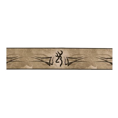 Browning Wall Border in Brown / Tan