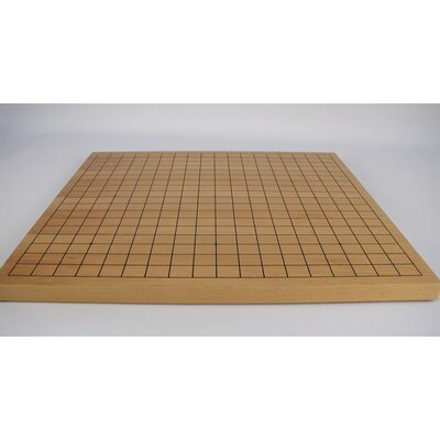 Play All Day Games Wooden Go Chess Board