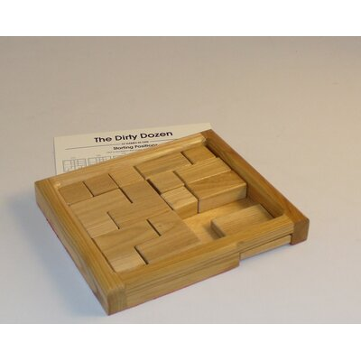 Square Root Games Dirty Dozen Puzzle Game