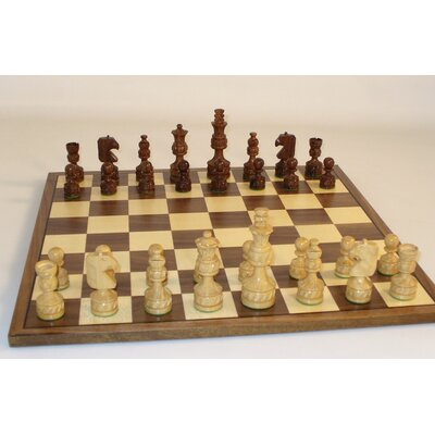 Royal Carved Chess Set