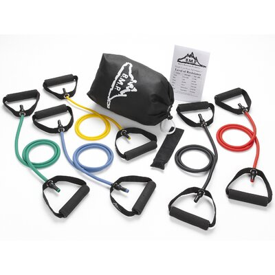 Black Mountain Products Resistance Band Set (5 Bands Included)