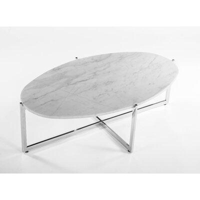 Dcor Design Oval Marble Coffee Table Reviews Wayfair