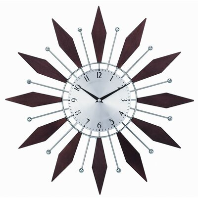 Control Brand The Harper Sunburst Clock