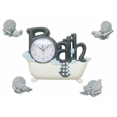 Control Brand Bath Wall Clock