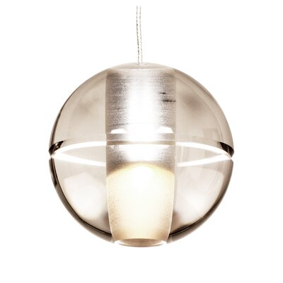 Elias 1 Light Globe Pendant