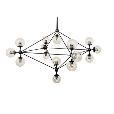 Barrista 15 Light Globe Pendant