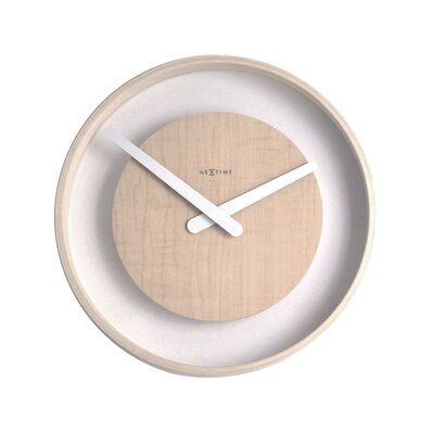 Control Brand Wood Loop Wall Clock
