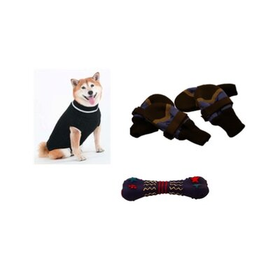 Pyara Paws Winter Dog Kit - Squeaky Bone
