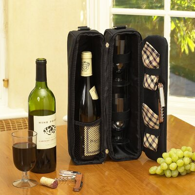 Picnic At Ascot London Sunset Wine Carrier