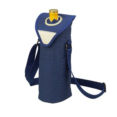 Picnic At Ascot Aegean Single Bottle Carrier