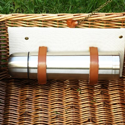 Picnic At Ascot Dorset Basket for Four with Coffee set and Blanket in Santa Cruz