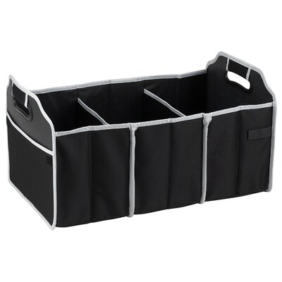 Picnic At Ascot Collapsible Trunk Organizer in Black