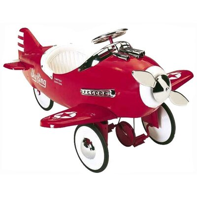 Airflow Collectibles Sky King Pedal Plane in Red