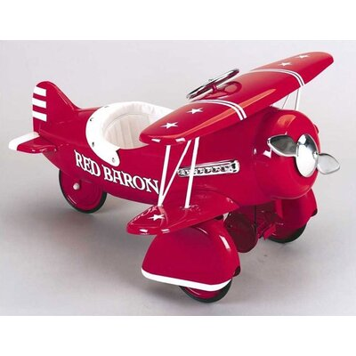 Airflow Collectibles Red Baron Pedal Plane