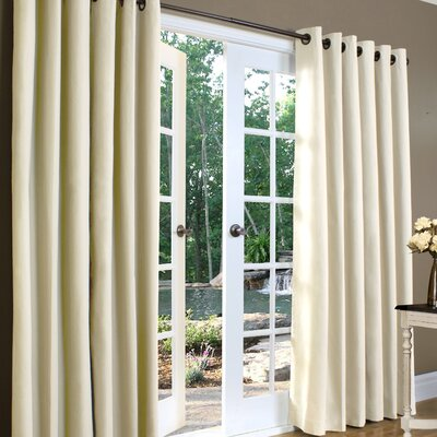 Thermalogic Weathermate Solid Insulated Color Grommet Top Curtain