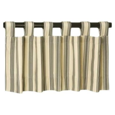 <strong>Thermalogic</strong> Weathermate Broad Stripe Cotton Insulated Curtain Valance
