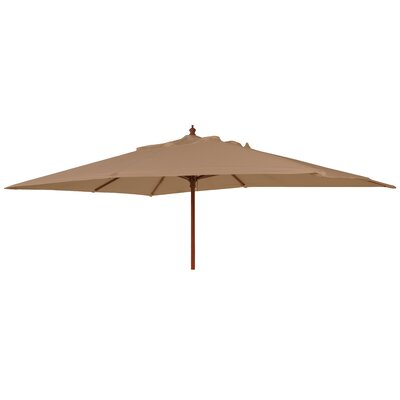 Alexander Rose Rectangular Wooden Parasol