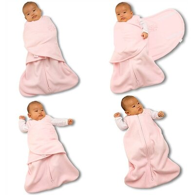 HALO Innovations, Inc. Fleece SleepSack™ Swaddle Wearable Blanket in Pink