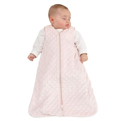 HALO Innovations, Inc. SleepSack Wearable Blanket, Velboa Plush Dots
