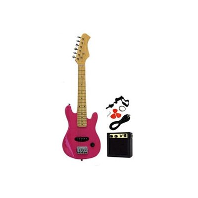 Stedman Pro Kids Electric Guitar in Pink