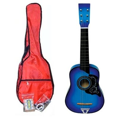 Stedman Pro Kids' Toy Acoustic Guitar Kit in Blue