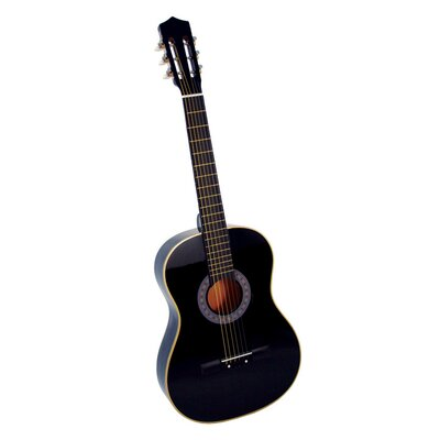 Stedman Pro Acoustic Classical Guitar with Gig Bag and Accessories in Black
