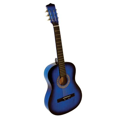 Stedman Pro Acoustic Classical Guitar with Gig Bag and Accessories in Blue