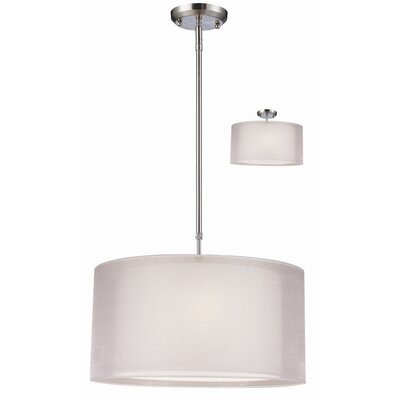 Z-Lite Nikko 3 Light Drum Foyer Pendant