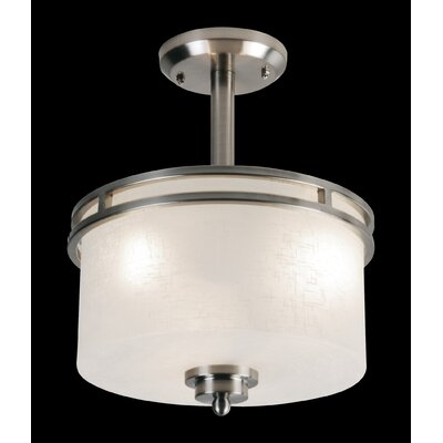 Z-Lite Cobalt 3 Light Semi Flush Mount