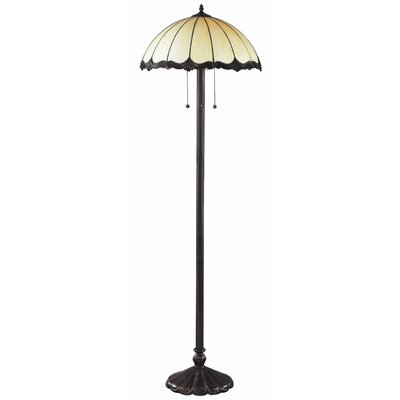 Z-Lite Ebony Floor Lamp in Chestnut Bronze