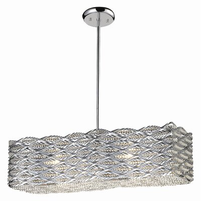 Adara 6 Light Crystal Chandelier