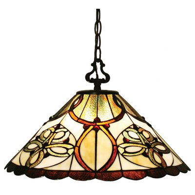 Z-Lite Albany 1 Light Inverted Pendant