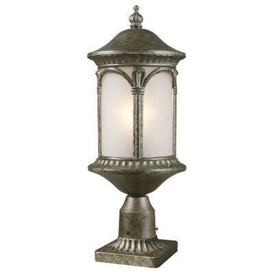 "Z-Lite Hampton 1 Light 22.25"" Outdoor Post Lantern"