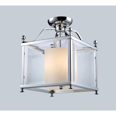 Z-Lite Fairview 3 Light Semi Flush Mount