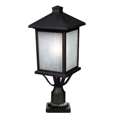 "Z-Lite Holbrook 1 Light 22"" Outdoor Post Lantern"