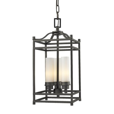 Z-Lite Altadore 3 Light Metal Foyer Pendant
