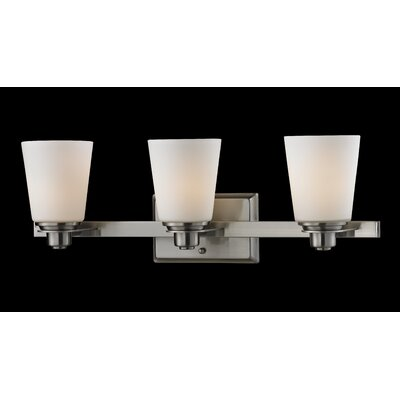 Z-Lite Nile 3 Light Bathroom Vanity Light
