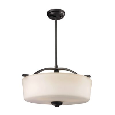 Arlington 3 Light Drum Foyer Pendant