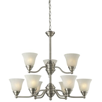 Z-Lite Athena 9 Light Chandelier