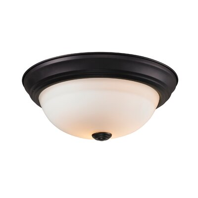Z-Lite Athena 2 Light Flush Mount
