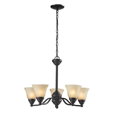 Athena 5 Light Chandelier