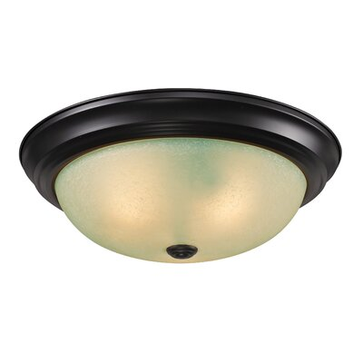 Z-Lite Athena 3 Light Flush Mount