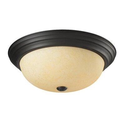 Z-Lite Athena 3 Light Flush Mount