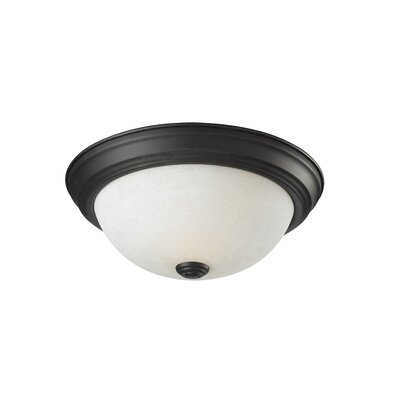 Z-Lite Athena 1 Light Flush Mount